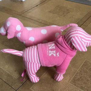 Victoria's Secret PINK Dogs x2